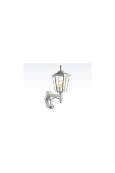 Sensorlampe, ude L 15 hvid 60W - E27