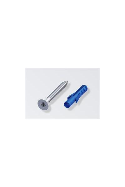 Skruer/Plugs galv  30x3.0mm 10 stk./æske