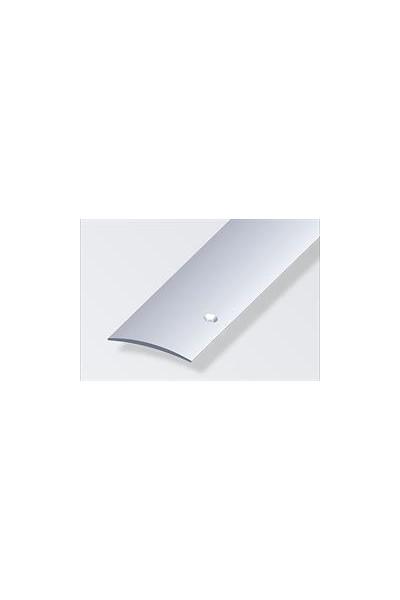 Tæppeovergang 50x5 mm Aluelox sidehul 1m