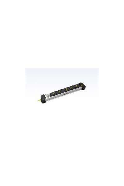 Stanley stikdåse 5-stik m. 4 m ledning - Wrap power bar IP44