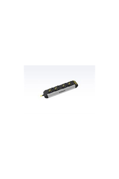 Stanley stikdåse 4-stik m. 3 m ledning - core power bar IP44