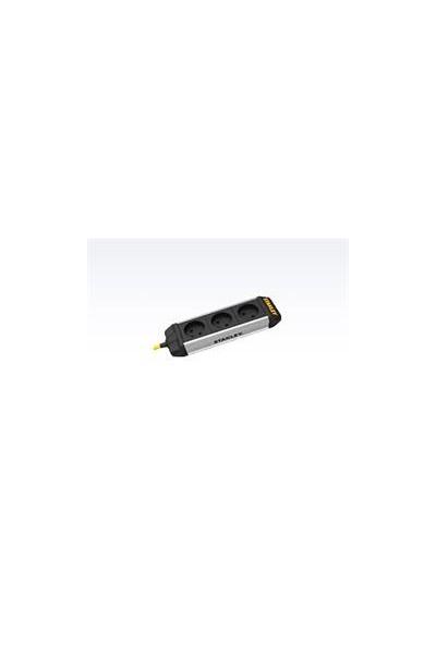 Stanley stikdåse 3-stik m. 20 m kabel - core power bar IP20