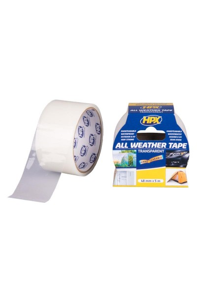 Universaltape UV transparent 48 mm x 5 m