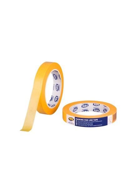 Afdækningstape UV 4 mdr. 25 mm x 50m gul