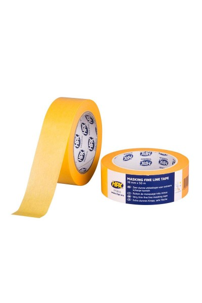 Afdækningstape UV 4 mdr. 38 mm x 50m gul
