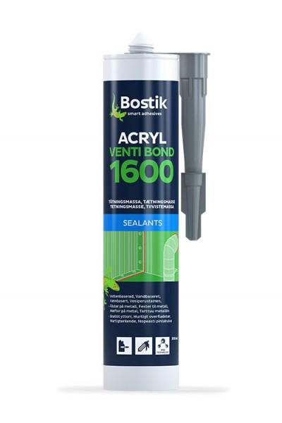 VENTI BOND ACRYL 1600 - 0,3 ltr - Grå - tætning af metal