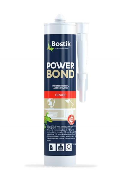 POWER BOND - 0,31 ltr - Natur  -  stærk indendørs lim