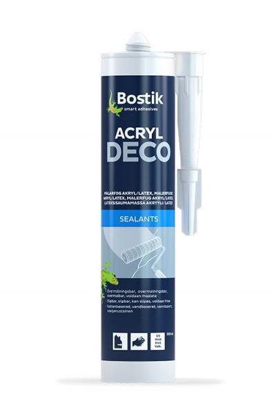ACRYL DECO - 0,3 ltr - Hvid