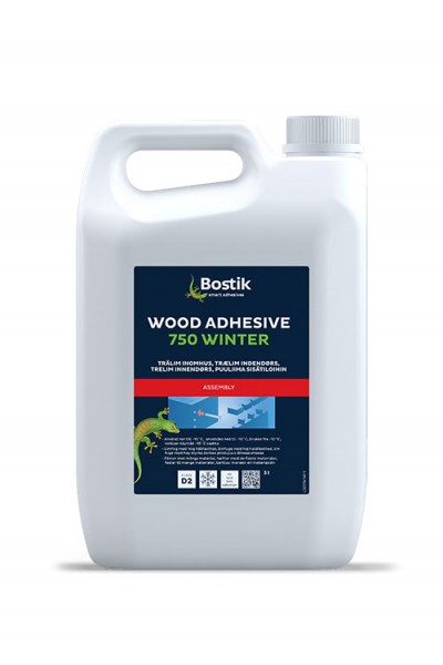 WOOD ADHESIVE 750 WINTER - 5 ltr -  indendørs trælim