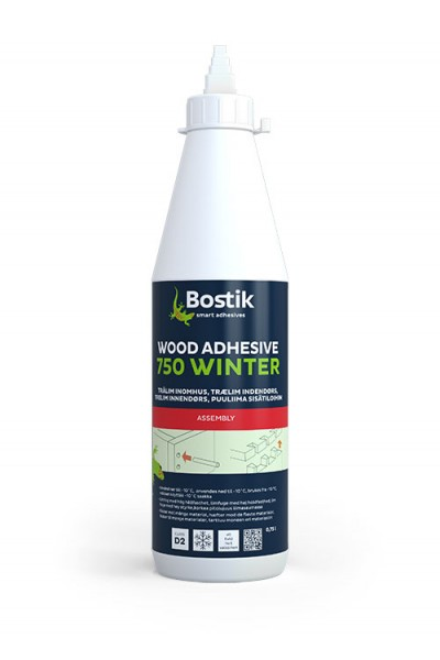 WOOD ADHESIVE 750 WINTER - 0,75 ltr - indendørs trælim
